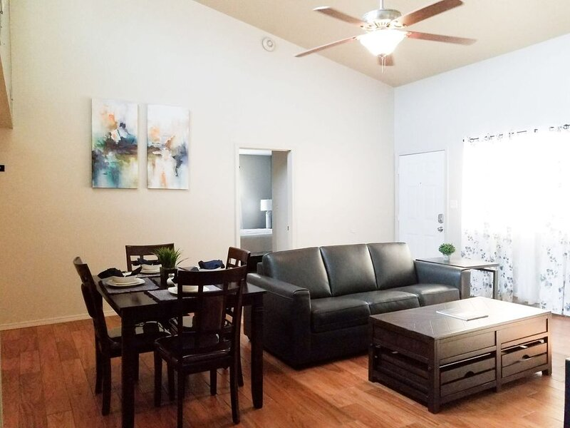 Living room dinning room area
