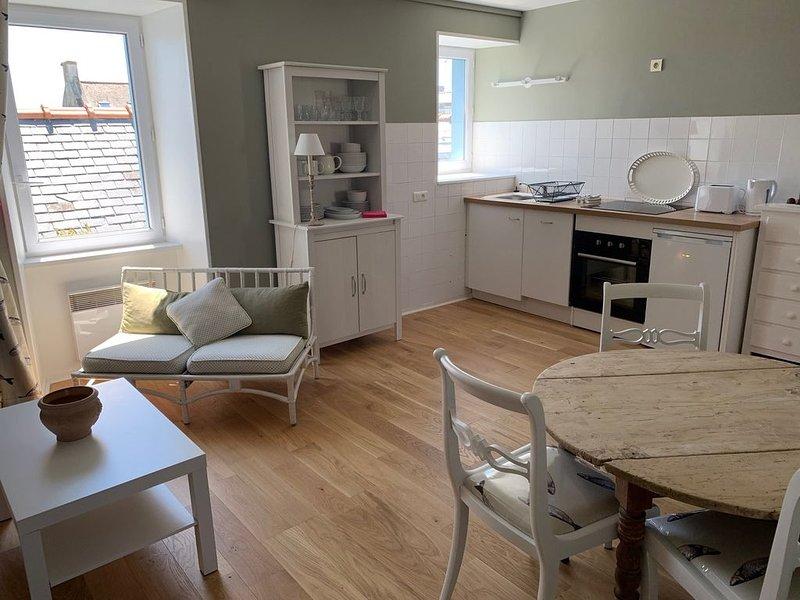 Appartement à 100m de la plage de Locmaria, location de vacances à Groix