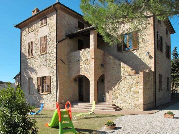 Ferienwohnung Villa Caggio (VOL142) in Volterra - 4 Personen, 2 Schlafzimmer, casa vacanza a Volterra