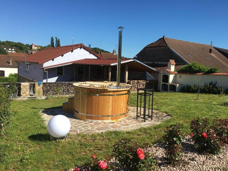 Domaine de la Mance - Gîte de standing avec spa, location de vacances à Recologne