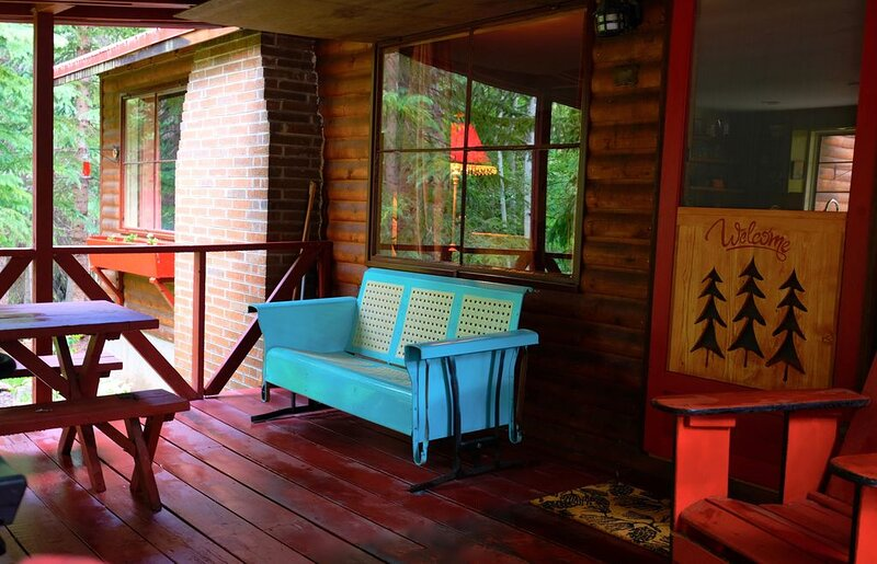 JungFrau Cabin, River Front, Easy Access, Secluded, Cozy Rustic Family Cabin, casa vacanza a Silver Plume