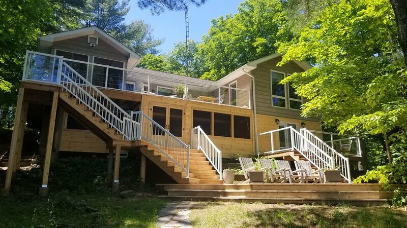 Welcome to Serendipity on Lake Muskoka! Gorgeous Island Dotted View!, vacation rental in Muskoka District