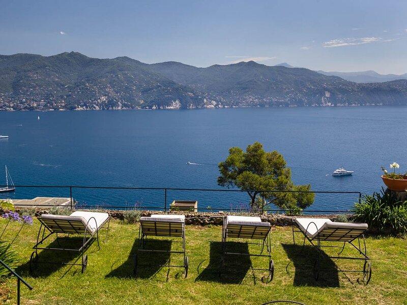 Villa Portofino Grande in Paraggi, vacation rental in Portofino