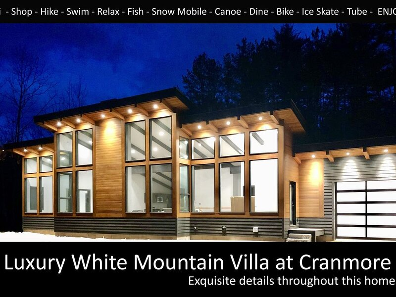 Luxury White Mountain Villa at Cranmore, holiday rental in North Conway