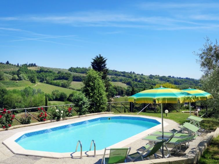 Ferienhaus Il Sangiovese (SGI315) in San Gimignano - 10 Personen, 4 Schlafzimmer, holiday rental in San Gimignano