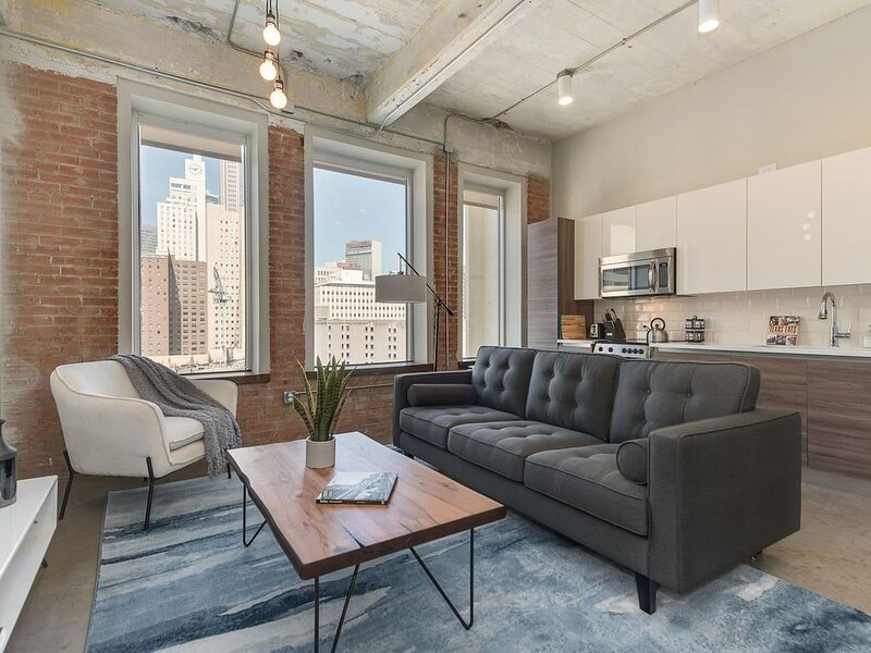 Jurny | Convention Center | Touchless 2bd Downtown – semesterbostad i Dallas