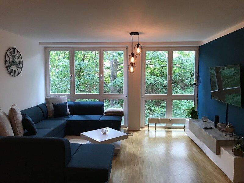 Neue FEWO Juventia | 87 m² | Neuseenland ganz nah!, location de vacances à Neukieritzsch