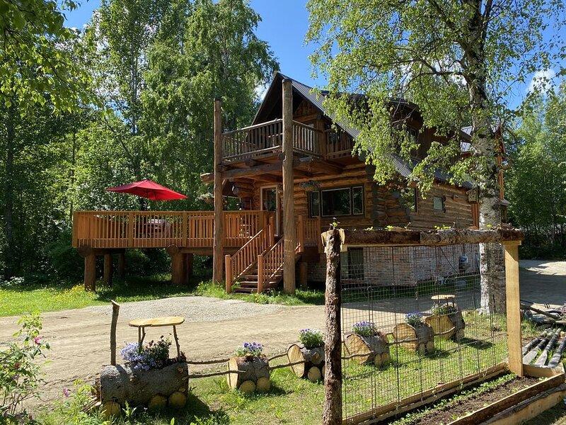 Lazy Bear Retreat at Talkeetna Lodge, location de vacances à Sunshine