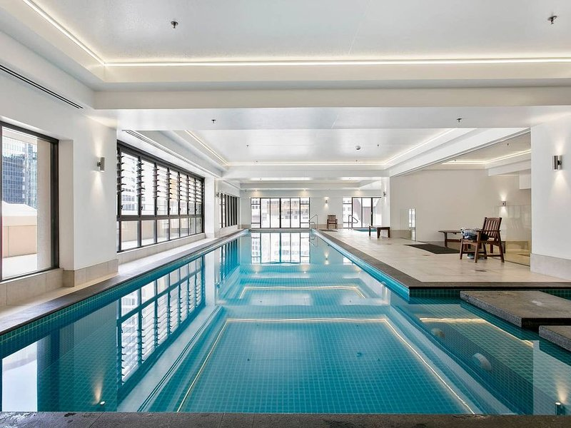 Free access to the hotel pool& hot tub
