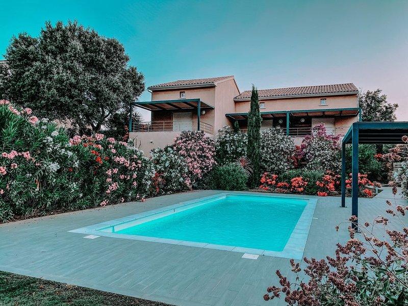 Les Villas de l'olivier, location de vacances à Ville-di-Paraso
