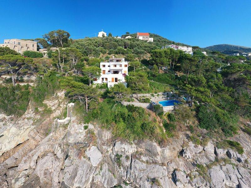 Villa con piscina e discesa a mare, Ferienwohnung in Massa Lubrense