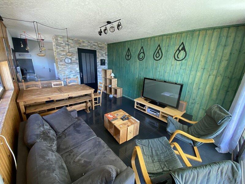Grand Appartement Orcieres vrai pied pistes 8 pers. 65 m², location de vacances à Orcières