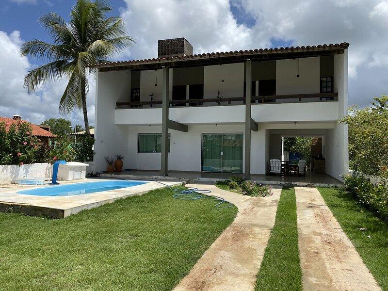 Casa na praia de Tamandare - menos de 50m da praia - na divisa com carneiros, aluguéis de temporada em Barra Grande