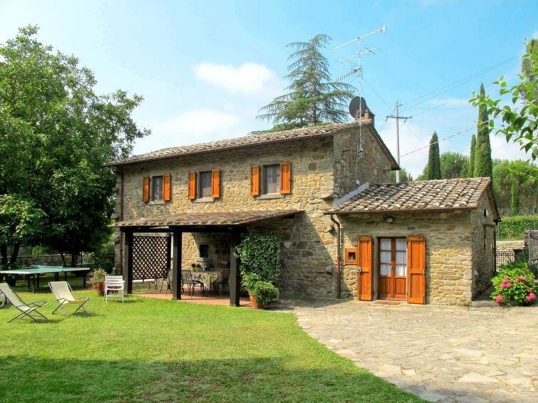 Ferienhaus Al Ponte (CRT130) in Cortona - 8 Personen, 4 Schlafzimmer, vacation rental in Montalla