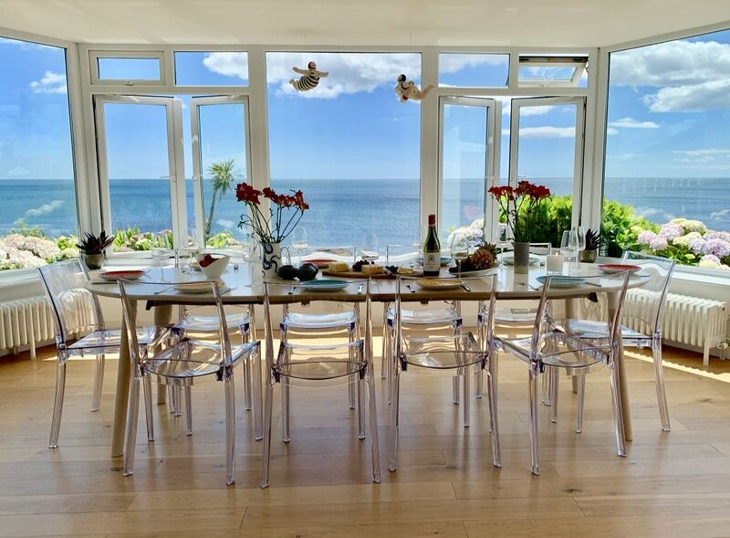 Luxury, Spacious, Beachfront, Detached House with Breath-taking Sea Views, holiday rental in Saint Germans