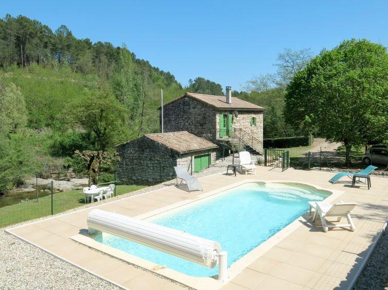 Ferienhaus Le Moulin (SGB100) in Saint Genest-de-Beauzon - 5 Personen, 2 Schlafz, casa vacanza a Payzac
