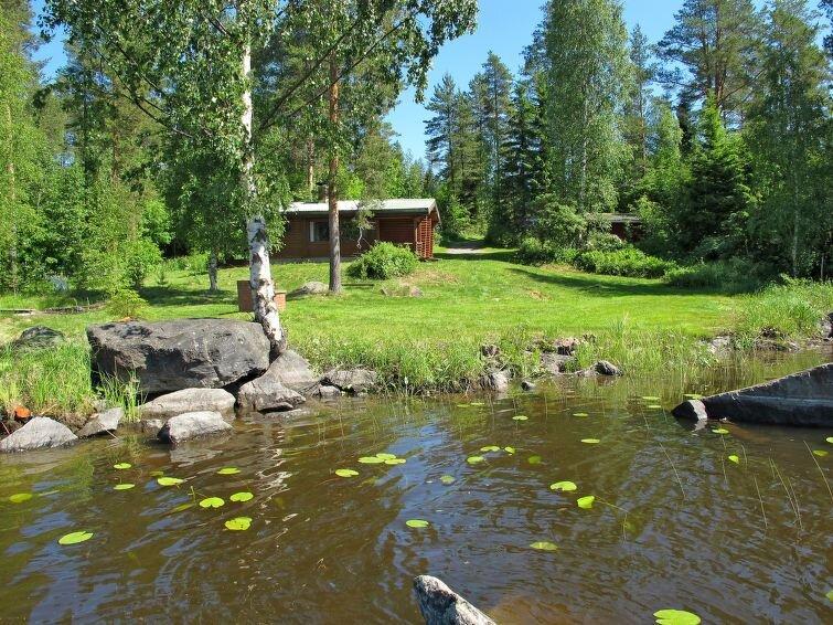 Ferienhaus Honka I (FIJ015) in Leppävirta - 5 Personen, 2 Schlafzimmer, aluguéis de temporada em Suonenjoki