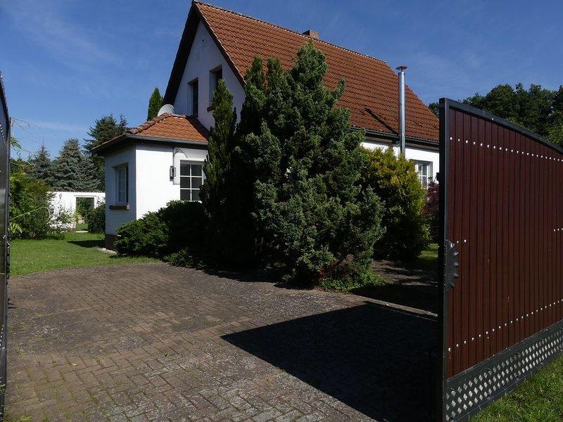 Charme & Stil - Haus Mühlenfließ  Natur pur,  Seen in Tornow vor der Haustür, Ferienwohnung in Himmelpfort