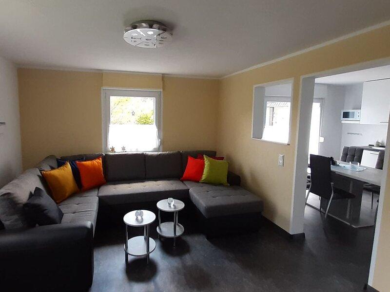 Ferienhaus Maag, 85qm, 2 Doppelzimmer, 1 Einzelzimmer, max. 5 Personen, alquiler de vacaciones en Bettingen