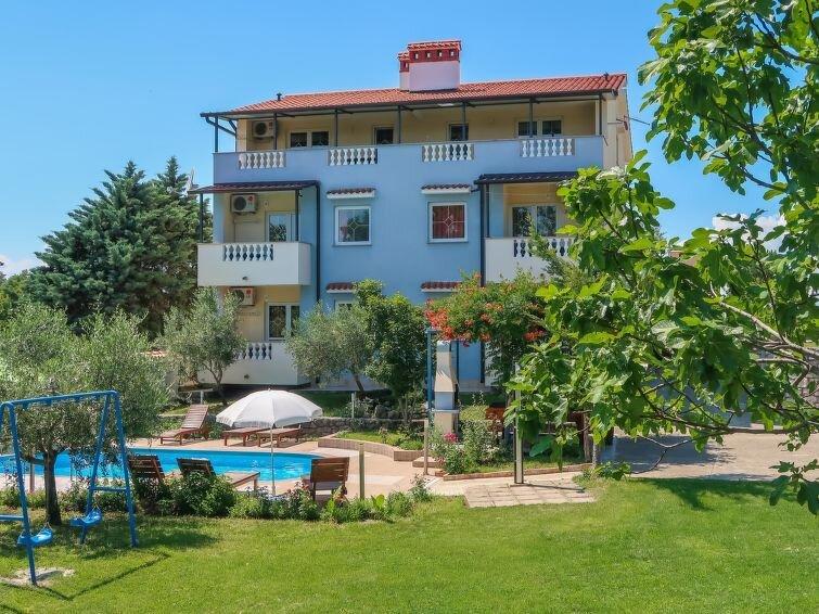 Ferienwohnung Gordana (LBN420) in Labin - 5 Personen, 2 Schlafzimmer, alquiler vacacional en Labin