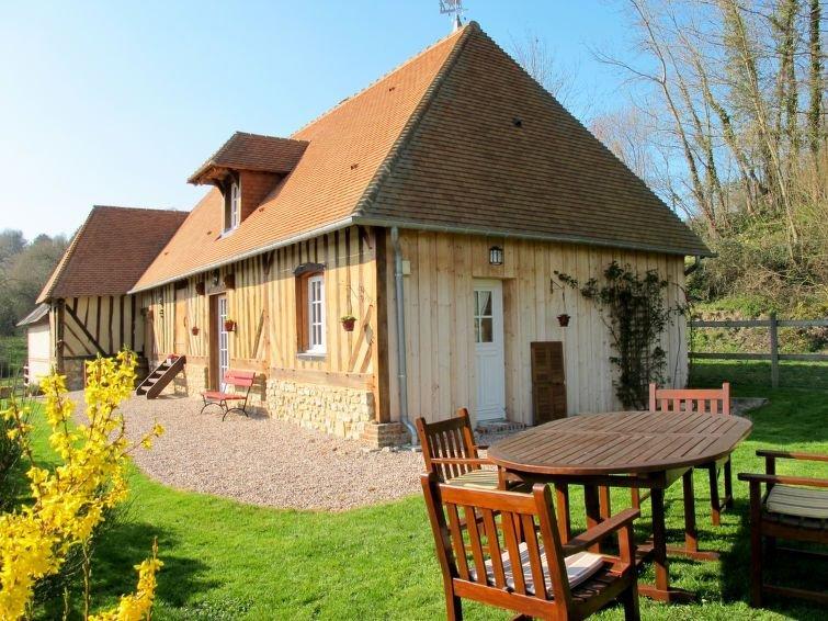 Vacation home in Courtonnes la Meurdrac, Normandy / Normandie - 5 persons, 2 be, aluguéis de temporada em Asnieres