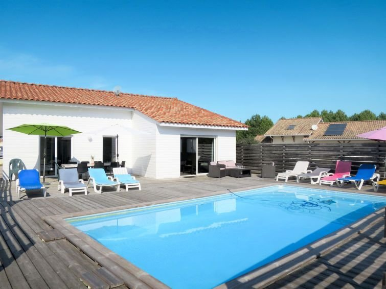 Vacation home in Vensac, Aquitaine - 8 persons, 4 bedrooms, alquiler de vacaciones en Montalivet