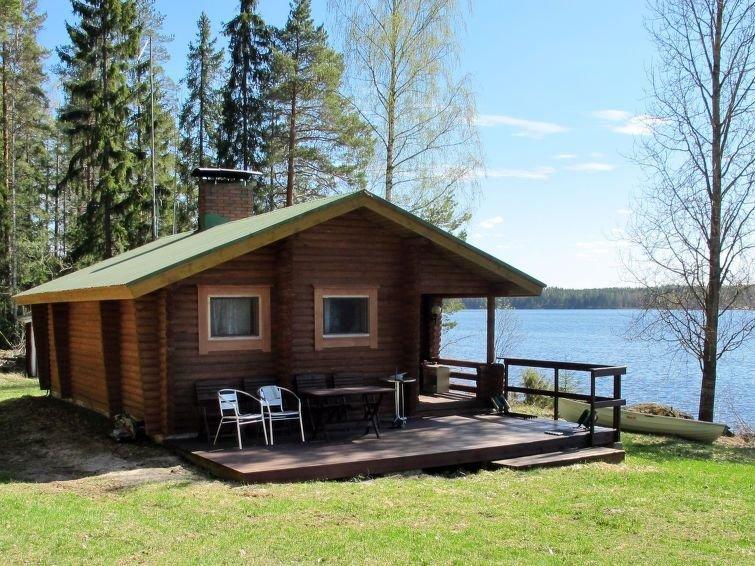 Ferienhaus Honka II (FIJ013) in Leppävirta - 5 Personen, 2 Schlafzimmer, aluguéis de temporada em Suonenjoki