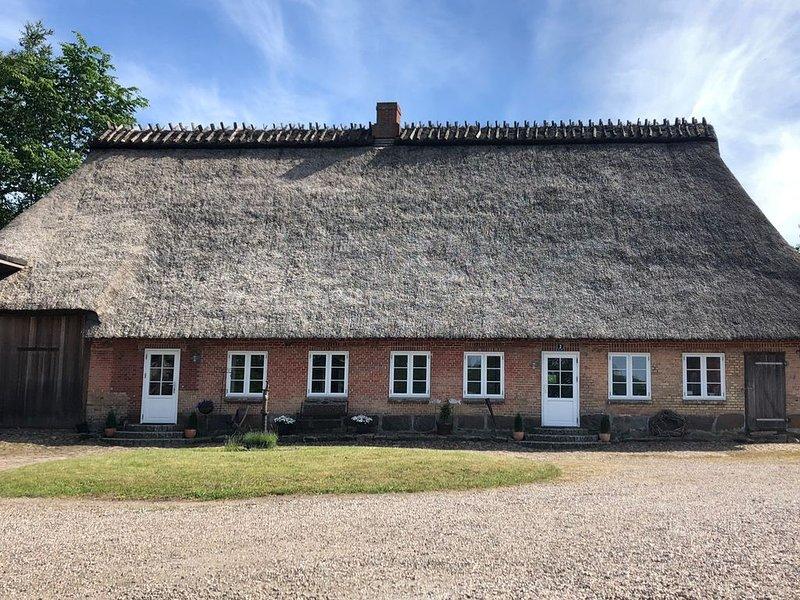 Ferienhaus mit großem Garten, holiday rental in Ulsnis