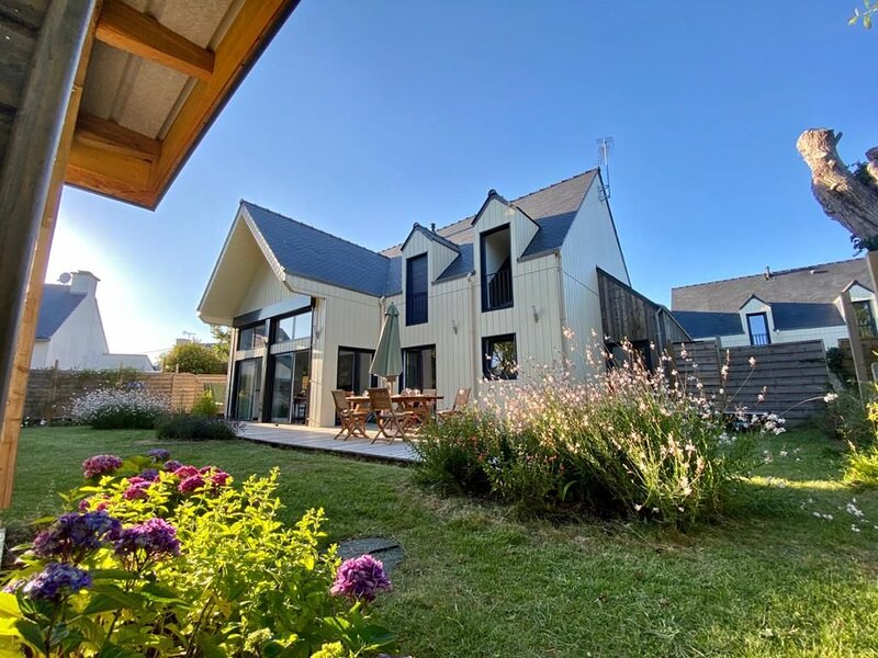 Maison familiale Presqu'île de Rhuys - Golfe du Morbihan, casa vacanza a Sarzeau