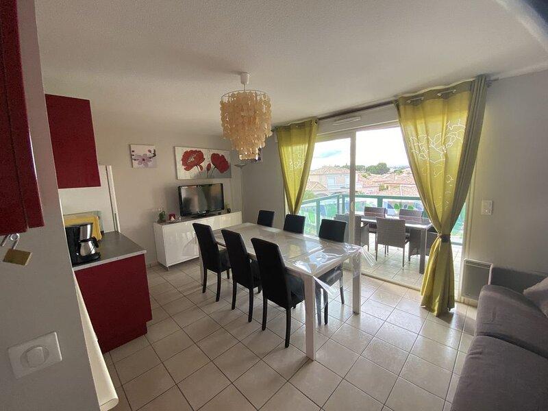 VALRAS - SERIGNAN Location Appartement 4 Pers., vacation rental in Villeneuve les Beziers