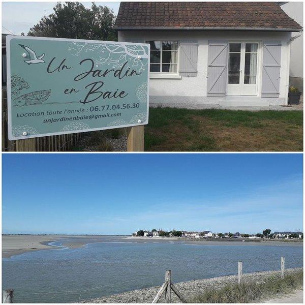 UN JARDIN EN BAIE  à 2 pas de la plage 3 étoiles, vacation rental in Somme