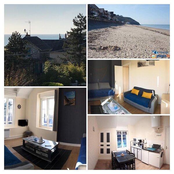 Location appartement meublé à 100m de la plage, location de vacances à Champeaux