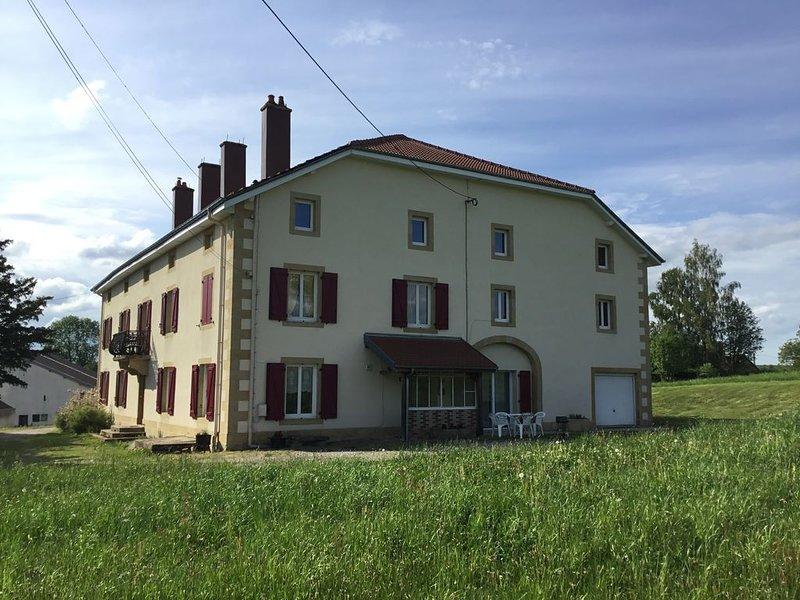 Vaste et lumineux appartement de plein pied dans une maison de caractère, holiday rental in Bains-les-Bains