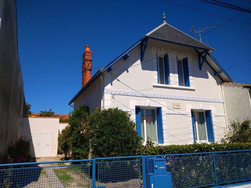 Maison Familiale Pour Vos Vacances En Bord De Mer (7 pers à 9 pers) classée 3*, location de vacances à Saint-Gilles-Croix-de-Vie