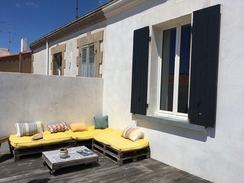 Au coeur de Croix de vie, charmante villa typique, alquiler de vacaciones en Saint-Gilles-Croix-de-Vie