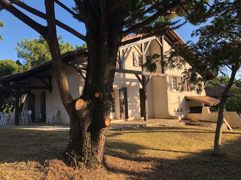 Belle villa landaise, location de vacances à Capbreton