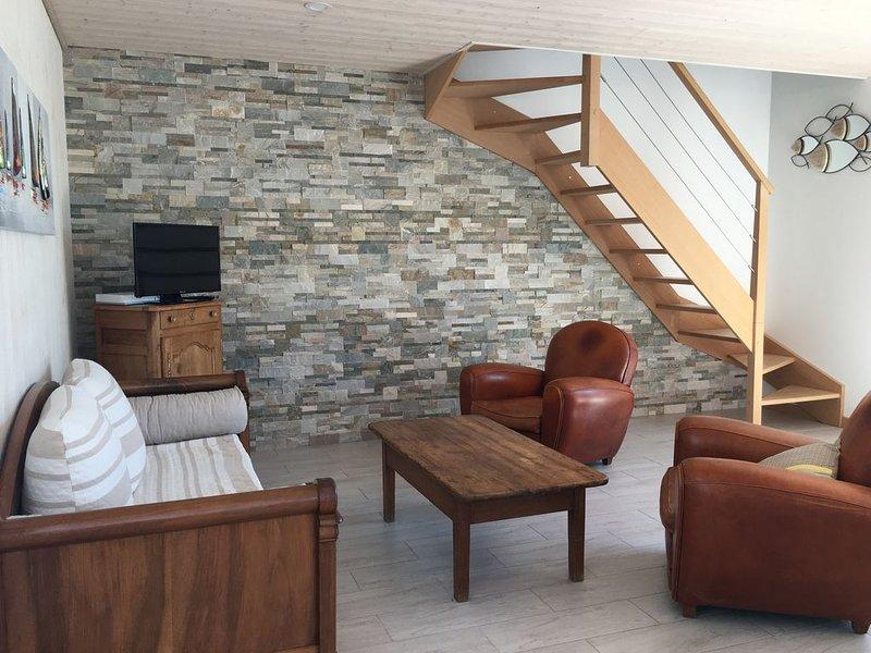 Maison neuve au  Vieil, 200m plages et commerces, 4 vélo, WIFI, alquiler de vacaciones en Noirmoutier en l'Ile