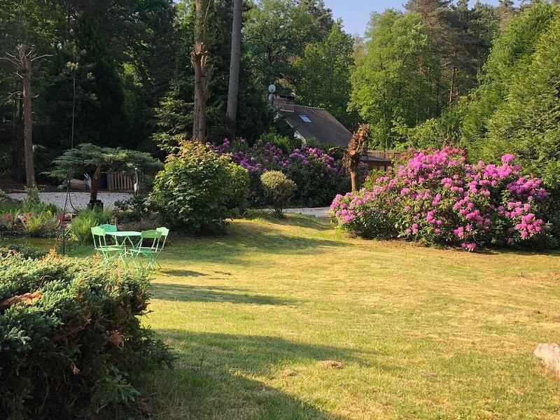 Grande maison au coeur de la forêt des trois pignons, vacation rental in Arbonne-la-Foret