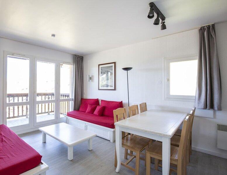 Appartement 6 pers au pied des remontées, alquiler vacacional en Savoie