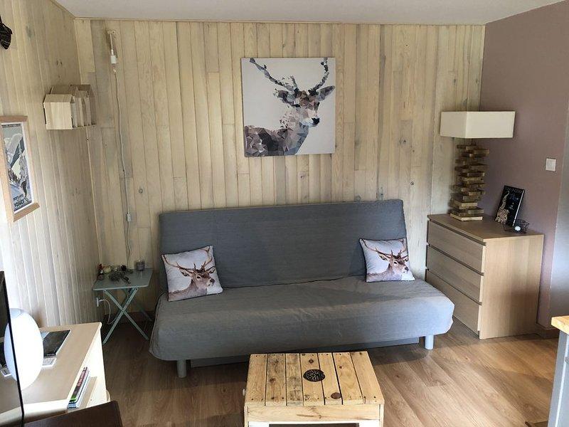 Charmant studio au Gaschney, dans la vallée de Munster (Vosges), holiday rental in Sondernach