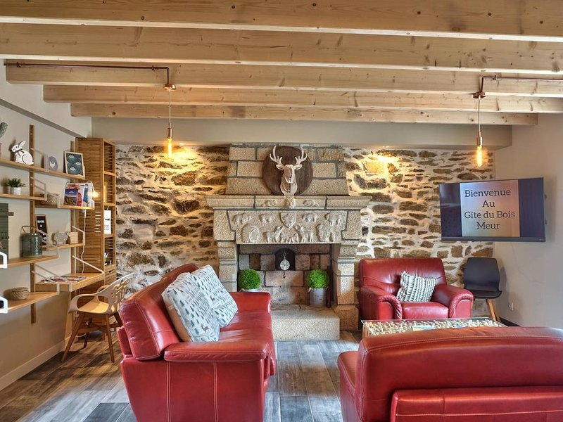 Maison Bois Meur, vacation rental in Plesidy