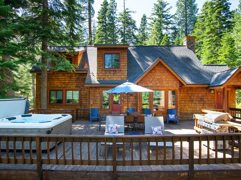 Front Deck  - Summertime fun relaxing on the deck - spacious and comfortable for all.