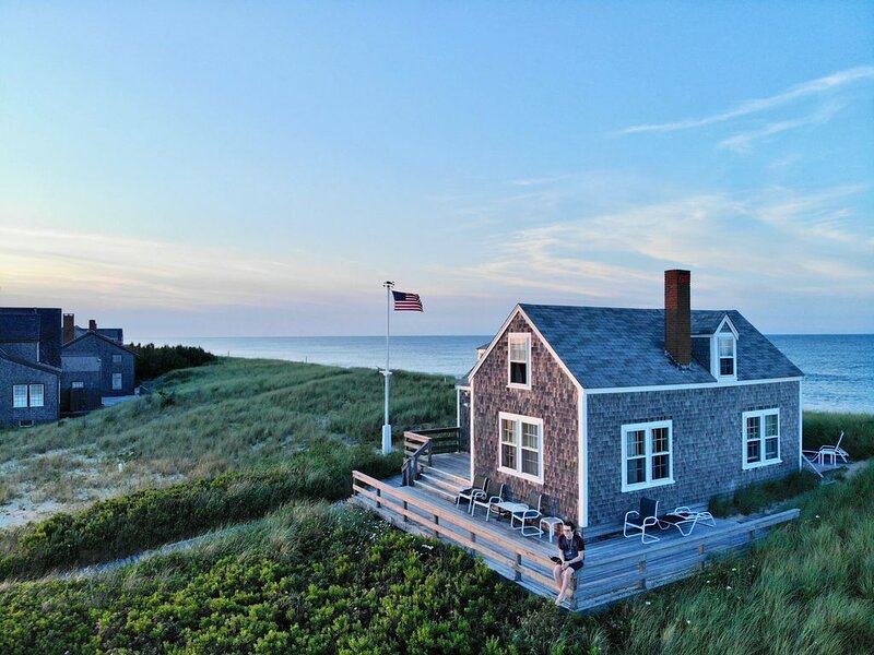 Beach House - Water Views Out of Every Window!, vacation rental in Siasconset