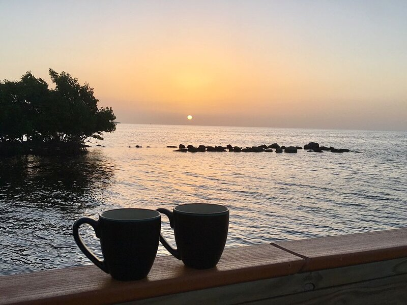 """Keys The Day""- Florida Keys Oceanfront Newly Renovated- Huge Value!!, alquiler de vacaciones en Tavernier"