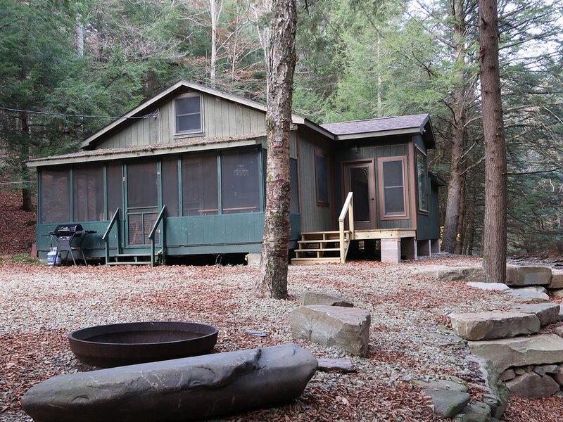 Quiet setting along a beautiful mountian stream!, holiday rental in Wysox