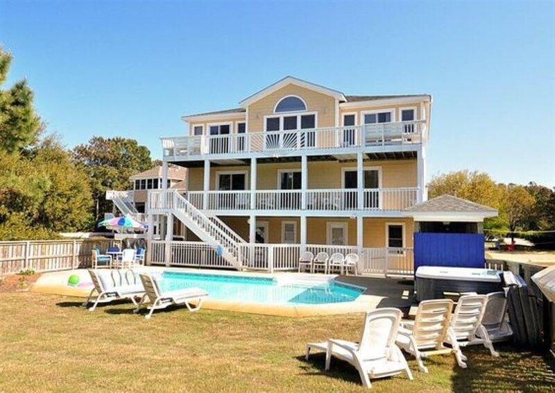 WELCOME HOME! 4100 SQFT, Stocked House, clean,LOCATION Downtown Duck & Oceanside, vakantiewoning in Kitty Hawk