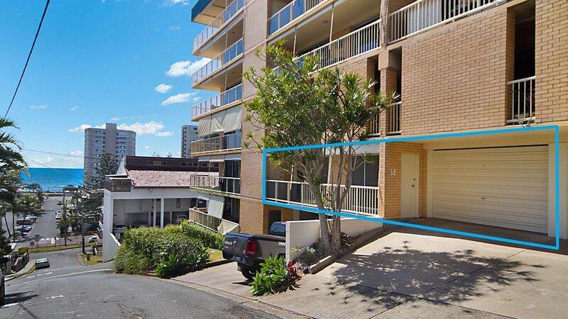 Woobera Unit 14 - Sunny balcony with a secure lock up garage., location de vacances à Fingal Head