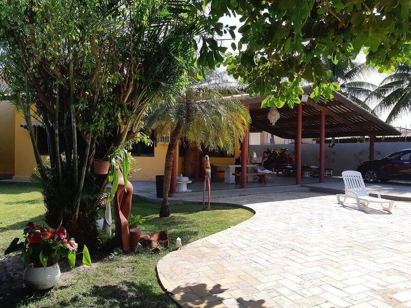 Você vai se encantar com  a formação de corais e piscinas naturais na Barra, location de vacances à Barra de Sao Miguel
