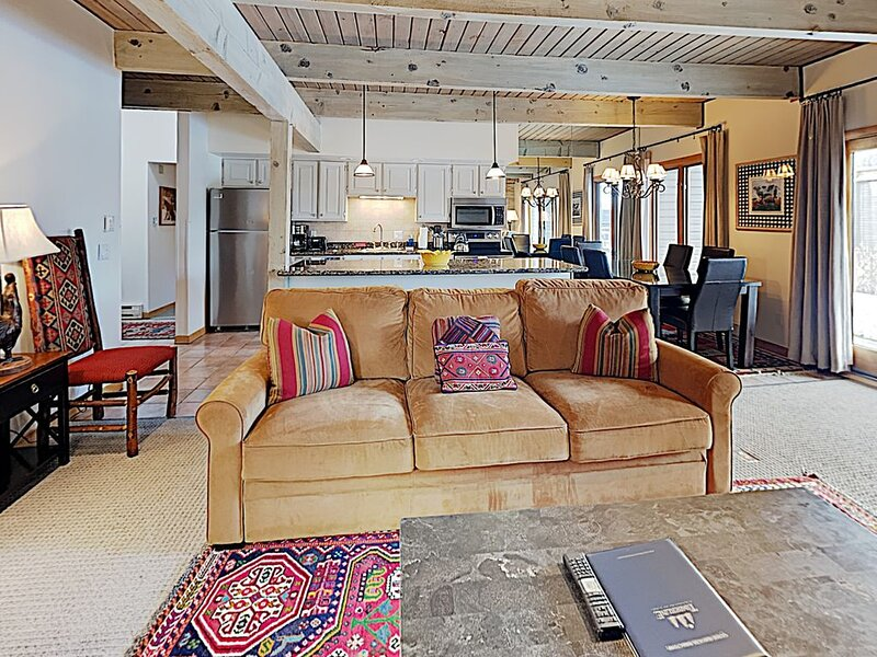 Timberline Deluxe Ski-In/Ski-Out Three Bedroom Condo, alquiler vacacional en Marble