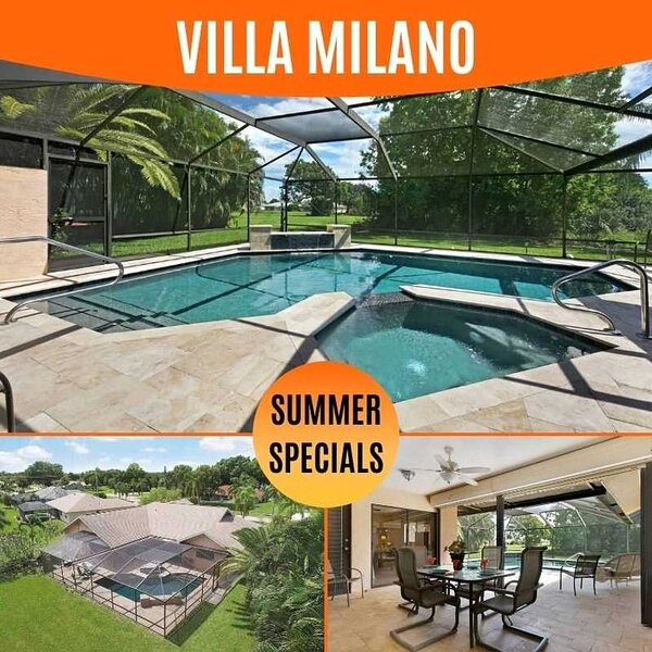 32% OFF! SWFL Rentals - Villa Milano - Beautiful Newly Rennovated Pool Home in P, alquiler vacacional en North Fort Myers